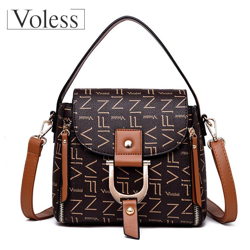 834ab7b2d5 Luxury Handbag Women Bags Designer High Quality PU Leather Crossbody ...