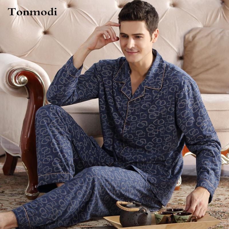 d5f4871ea6 2019 Men Sleep Nightshirt For Pajamas Coon Long Sleeve Cardigan Pyjamas Mens  Lounge Pajama Set From Apparelone