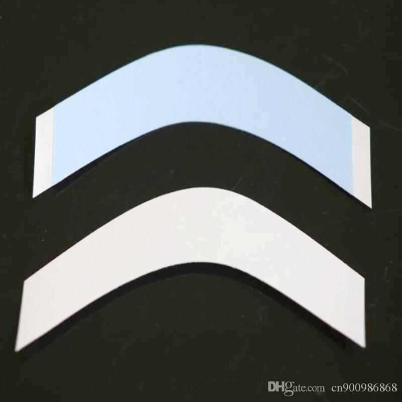 Trasporto libero / nastro doppio forte di alta qualità di sostegno blu del merletto parrucca di toupees / degli uomini