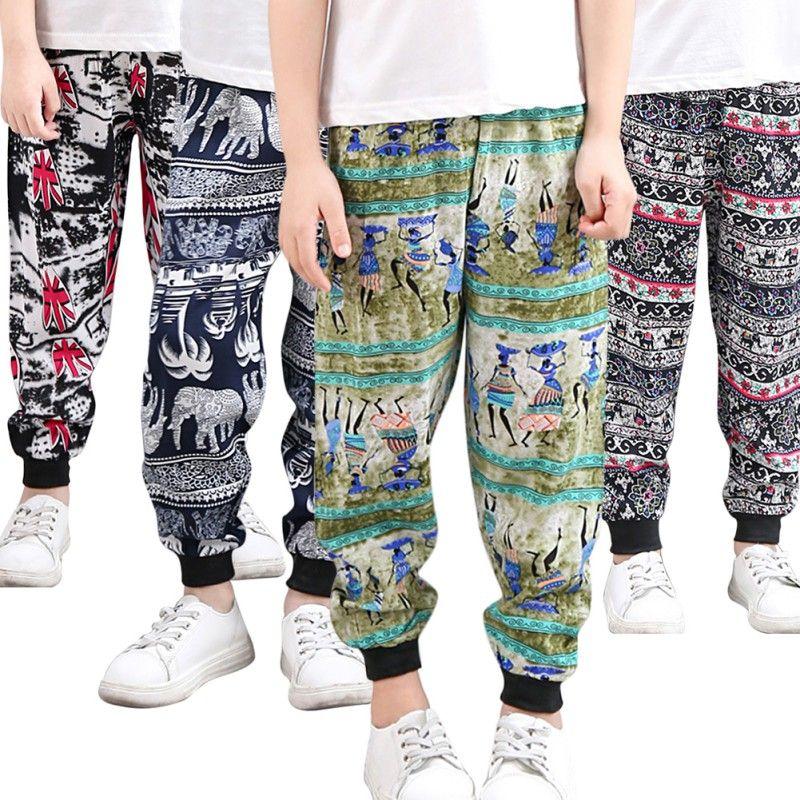 5c69f66e7 Pantalones harem de verano para niños Modelo de moda Pantalón de algodón  Sólido Desgaste del niño Niños Niñas Pantalones sueltos delgados Ropa ...