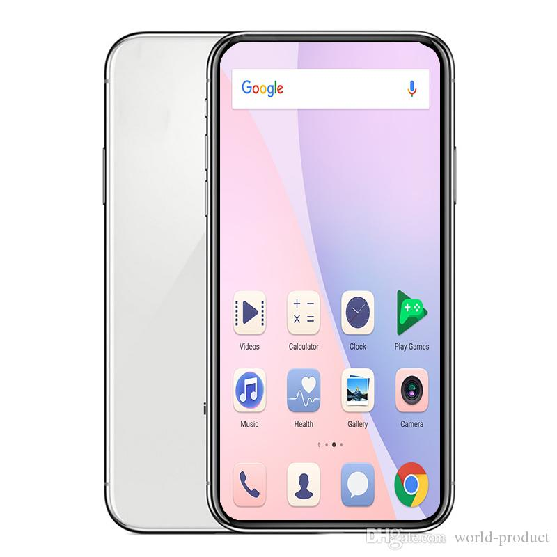 Unlocked Goophone X XS 5 8inch full screen 1GB RAM 8G ROM face id wireless  charging GPS GSM WCDMA smartphone 800MP camera
