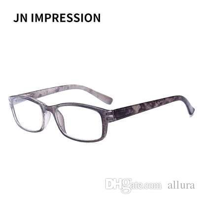 7b7c52adf8 Compre J N Ultralight Dureza Anti Fatiga PC Irrompible Gafas De Lectura  Hombres Mujeres Alta Calidad Presbicia Gafas T18924 A $3.81 Del Allura |  DHgate.Com