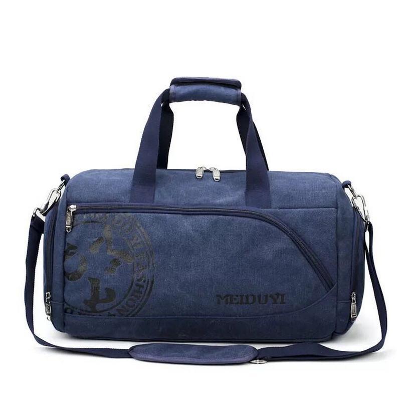 b976228c19 2019 2018 Canvas Women Man Travel Bag Yoga Gym Bag For Fitness Shoes  Handbags Shoulder Crossbody Pouch Women Men Sac De Sport Packbag From  Raisins