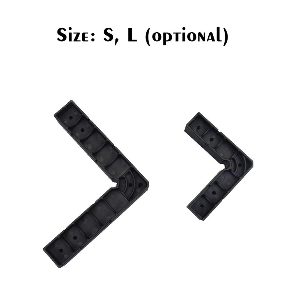 2pcs Plastic Precision 90 Degree Right Angle Clamp Positioning Block Jig Clamp for Woodworking