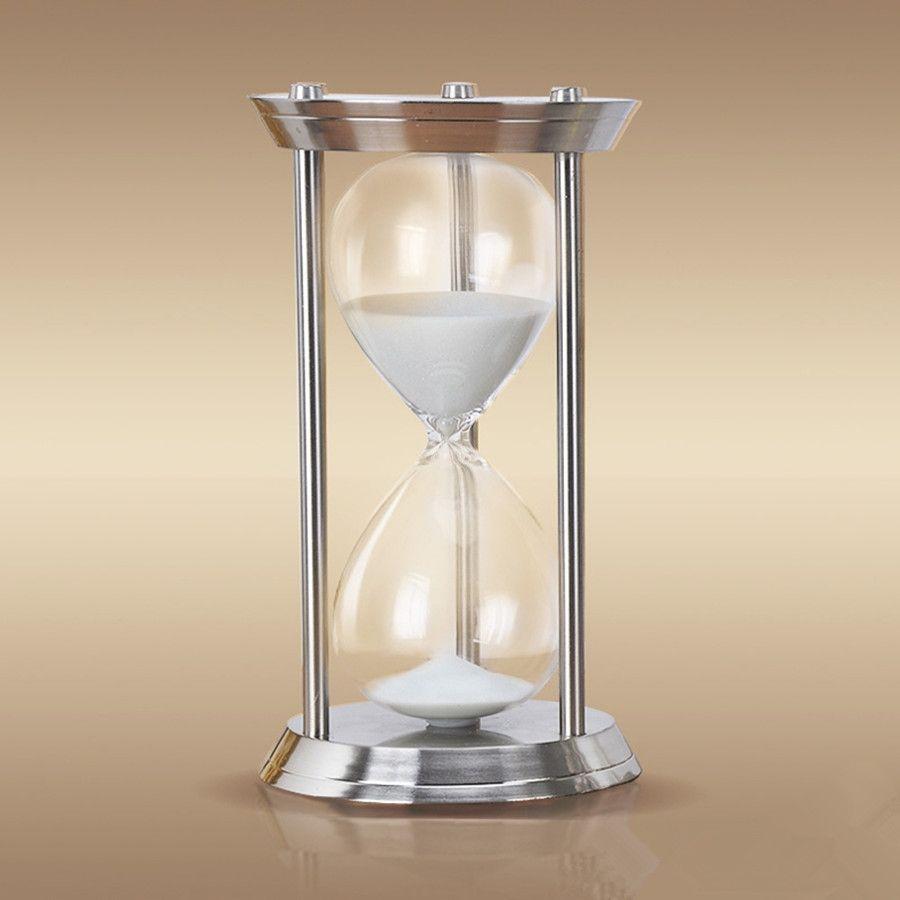gro handel 1 stunde hohe qualit t metall gro e sanduhr sanduhr 60 minuten gro e sanduhr el reloj. Black Bedroom Furniture Sets. Home Design Ideas