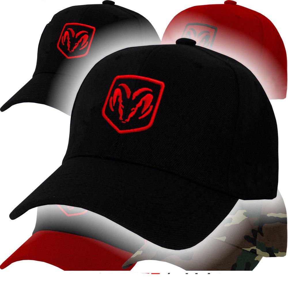 Dodge Ram Logo Cap Truck Challenger Charger Hemi Racing Emblem Mopar Hat  Viper Adjustable Baseball Cap Men Women Hat Beanies From Gunot 125e4a27bb8f