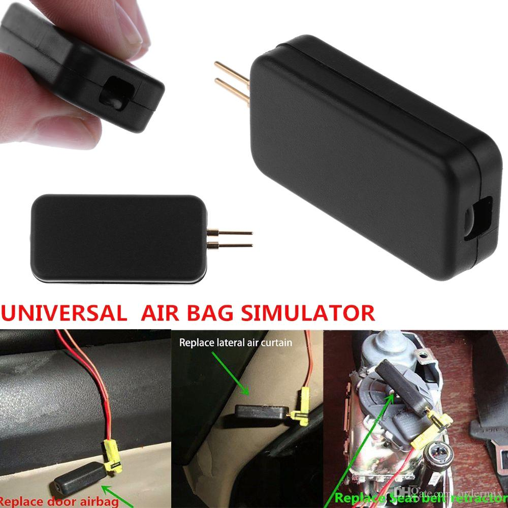 1 Unidades Coche Simulador de Airbag Emulador Bypass Garage Srs Fault Finding Herramienta de Diagnóstico