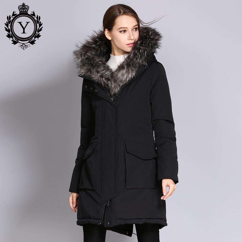 0c0bcfffbfb58 2019 COUTUDI 2017 New Arrival Winter Jacket Coat Women s Clothing Thick  Warm Female Parkas Big Faux Fur Lady Overcoat Plus Size Coats From  Stepheen