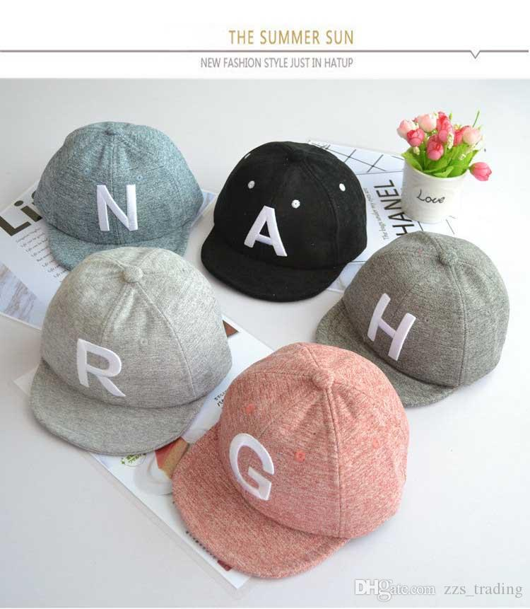 5afdc1dc752 2019 New 2018 Snapback Hat Children Unisex Baby Baseball Cap Boy Cap For  Kids Hip Hop Cap Girl Hat Baby Hat Drop Shipping From Zzs trading