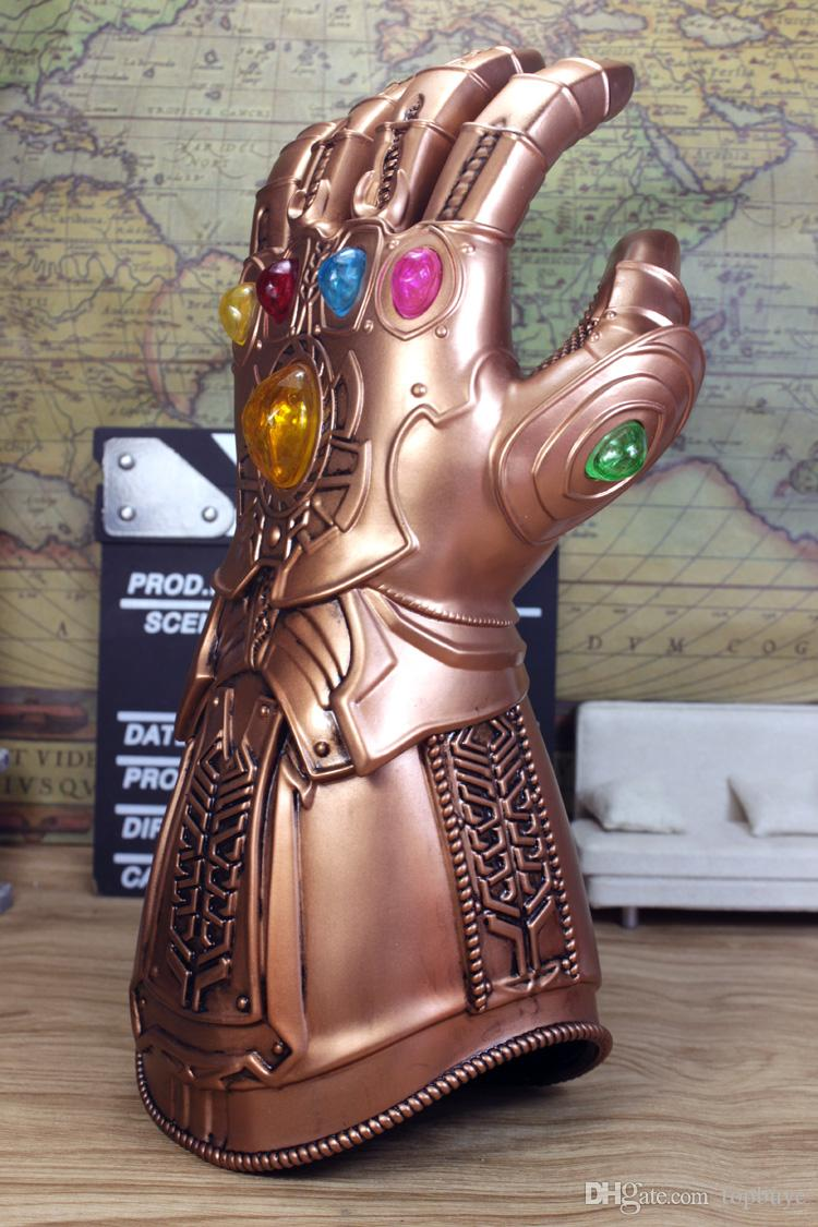 Avengers Infinity Thanos Marvel Legends Thanos Gauntlet Wearable Gloves 1:1  Cosplay/Gift/Colletiable Toy Halloween Props