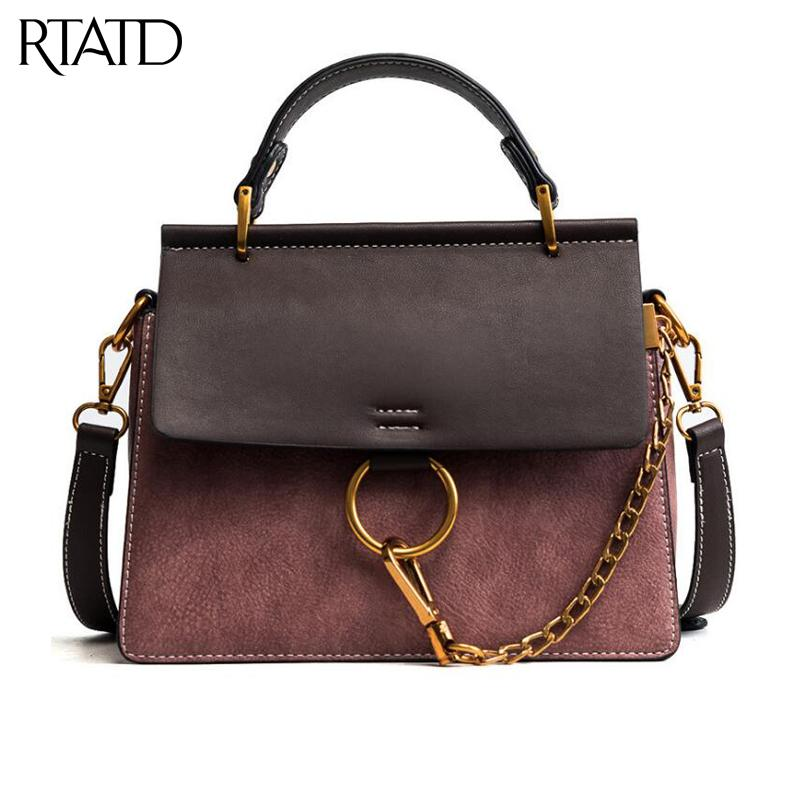 7ca50a77fa RTATD New Women Messenger Bags Luxury Brand Ladies Shoulder Bags ...