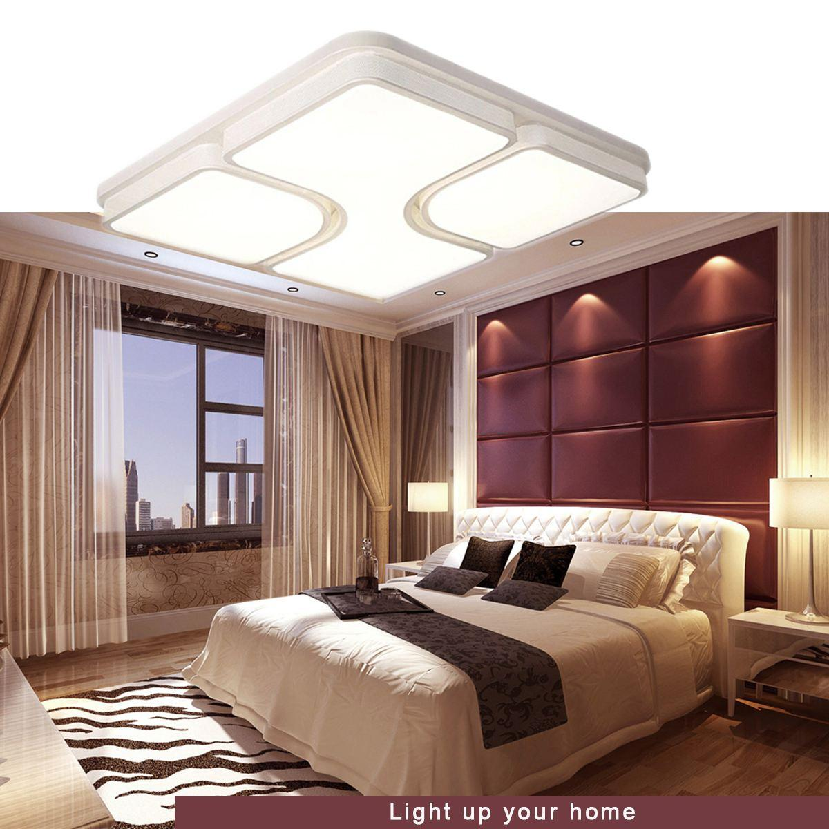 2018 led square design modern iron ceiling light night lamp fixtures