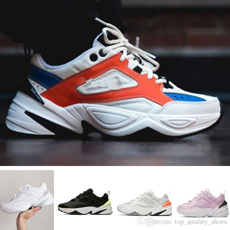 best sale online 2018 New M2K Tekno Air Monarch Sports Running Shoes for Top quality Women Mens Designer shoes Zapatillas Trainers Designer Sneakers 36-46 clearance reliable cheap affordable classic sale visit new Wmd3QFdn