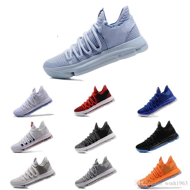 c8762ba370a4 2018 KD11 Basketball Shoes KD 10 New Sports Shoes Basket Ball Boots Mens  Trainer Kevin Durant 10 Athletics Footwear Sport Sneakers Men Sneakers  Sneakers Men ...