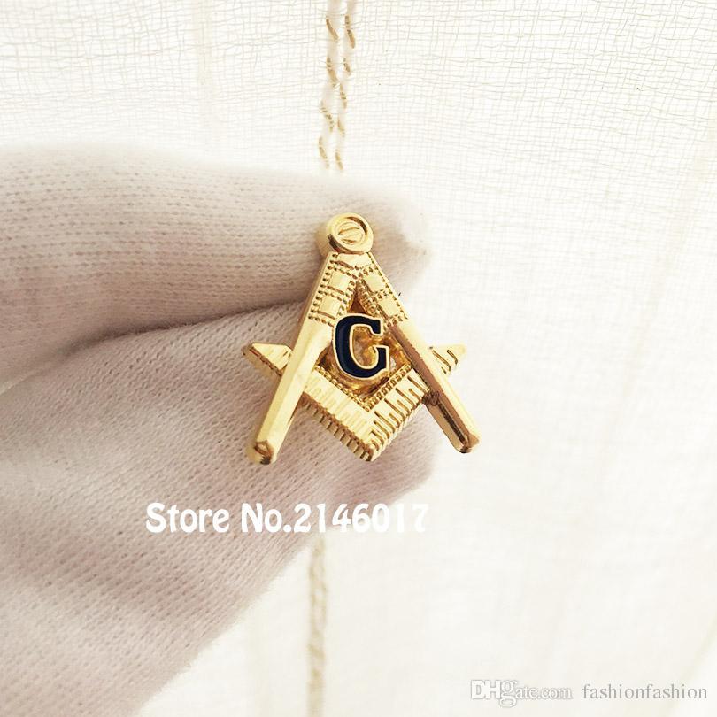 Square And Compass G Custom Making Lapel Pin Badge Blue Lodge ... 98d291e4c358
