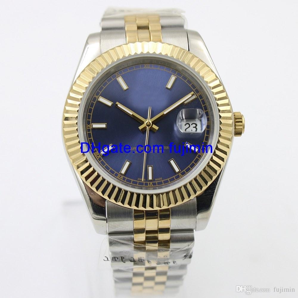7e6a180cb94 Compre Marca De Luxo Relógio Homens 40mm Relógio Mecânico Automático Nenhum  Movimento De Varredura Da Bateria Relógio De Aço Inoxidável Aaa Datejust  Modelo ...