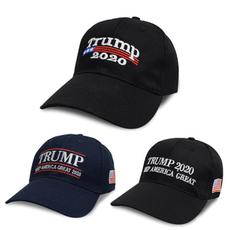 45816c0a9f4 Embroidery Trump 2020 Make America Great Again Donald Trump Baseball ...