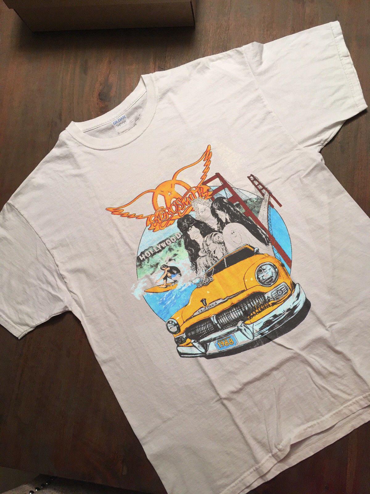 Vintage 80s concert t shirts commit