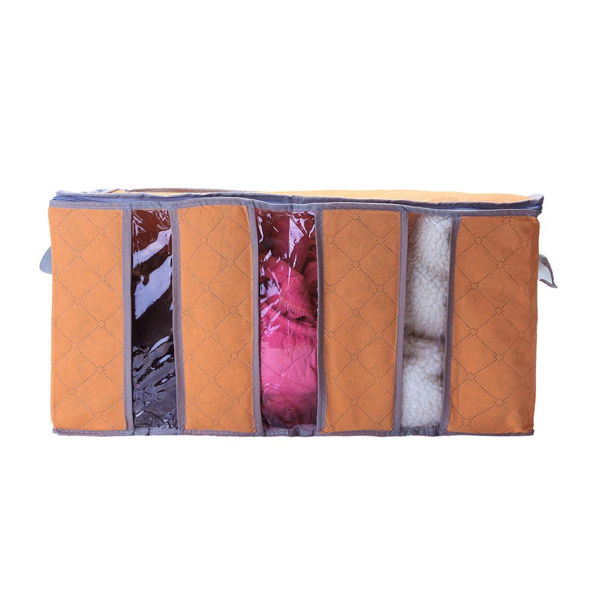 Grosshandel 65l Grossere Faltbare Kleiderschrank Aufbewahrungstasche Kleidung Decke Kissen Quilt Schrank Pullover Box Beutel Organisieren