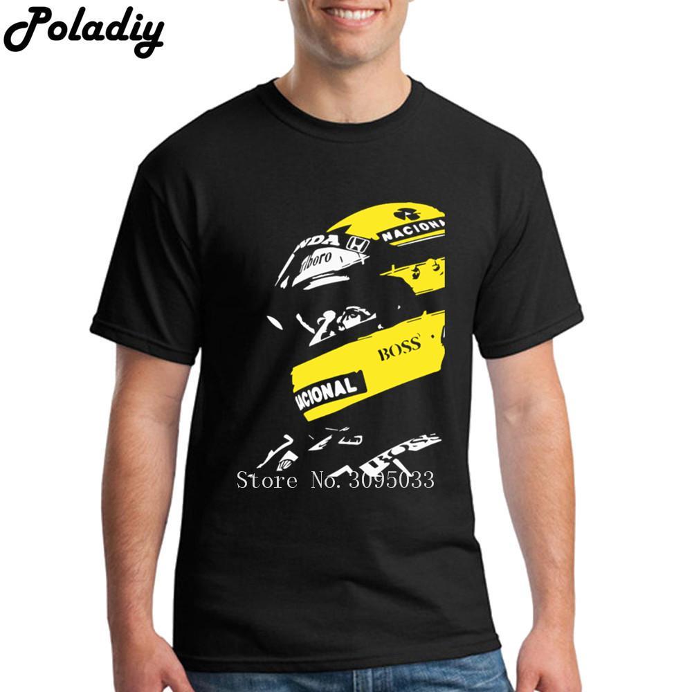 655e9f56507c Acquista T Shirt Uomo Ayrton Senna T Shirt Uomo T Shirt Ayrton Senna Uomo T  Shirt Manica Lunga A  23.52 Dal Elizabethy