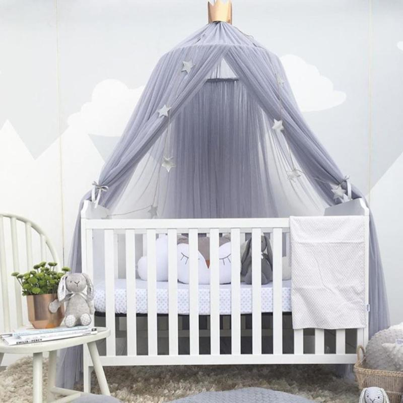 240Cm Home Decorative Baby Bed Mosquito Curtain Hanging Round Crib Tent Hung Dome Mosquito Net Tent Curtains Kids Room Decor V3 Mosquito Species Mosquito ... & 240Cm Home Decorative Baby Bed Mosquito Curtain Hanging Round Crib ...