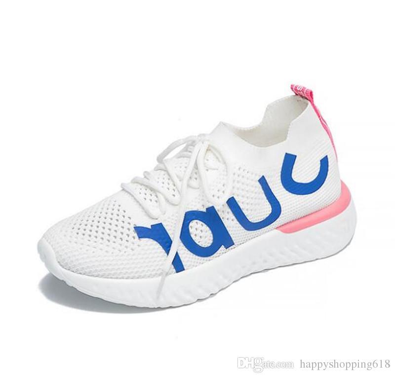 the best attitude eaca5 a6e94 Acquista Vendita Calda 2018 Estate Donne Scarpe Casual Moda Sneakers  Traspirante Netto Camminare Jogging Scarpe Da Viaggio Bianco Nero Eur 35 39  Scarpe ...
