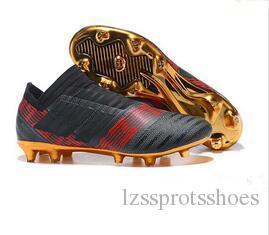 Fußballschuhe mit niedrigem Knöchel für Herren NEMEZIZ 17+ 360 Agility FG Fußballschuhe NEMEZIZ Messi 17.1 360Agility TPU Fußballschuh für den Außenbereich