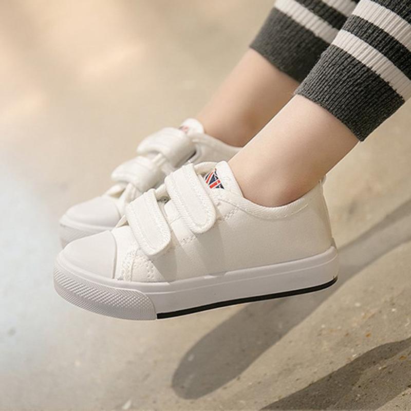2db72d042798a Acheter Nouveau Enfants Bébé Chaussures De Toile Pour Les Filles Garçons  Fond Doux Sport Chaussures De Mode Appartements Enfant Sneakers Enfant En  Bas Âge ...