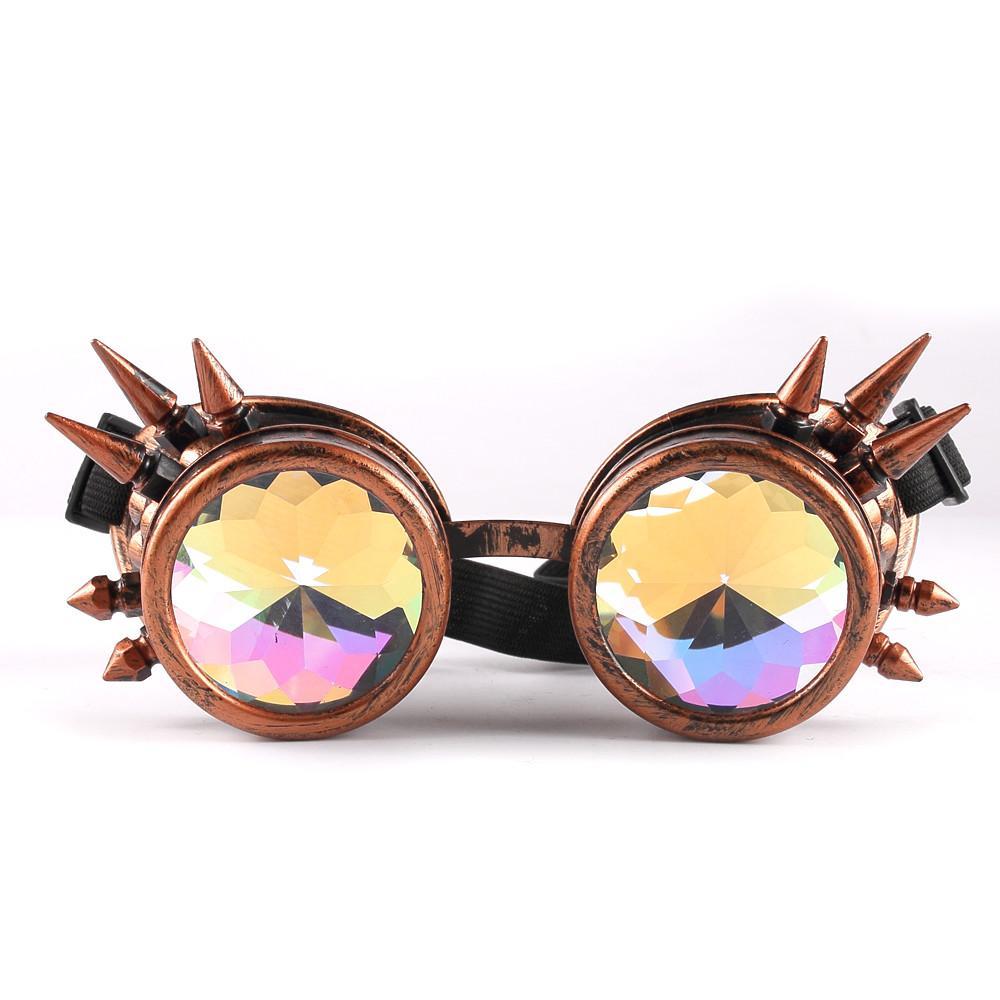 733ad839cf Compre Gafas De Sol Hombres Mujeres 2018 Caleidoscopio Gafas Coloridas Rave  Festival Party EDM Gafas De Sol Lentes Difractadas A $38.42 Del Juaner    DHgate.