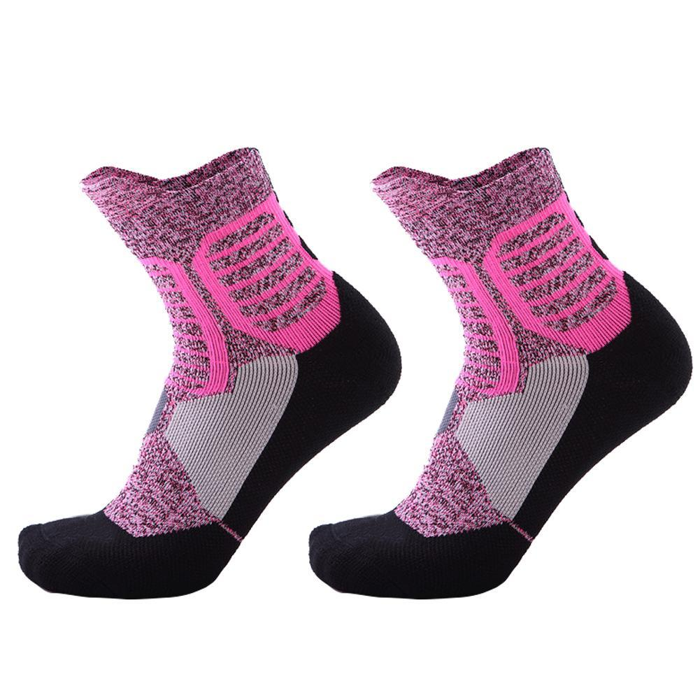 77a0c1e9940 2019 Knee High Socks Towel Bottom Non Slip Sports Socks Breathable Thickened  Deodorant Tennis 3015 Jul 26 From Xuelianguo