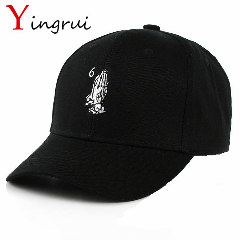 5e10a996835 Hip-Hop God Baseball Cap Namaste Pray Hands Snapback Hat Gesture ...