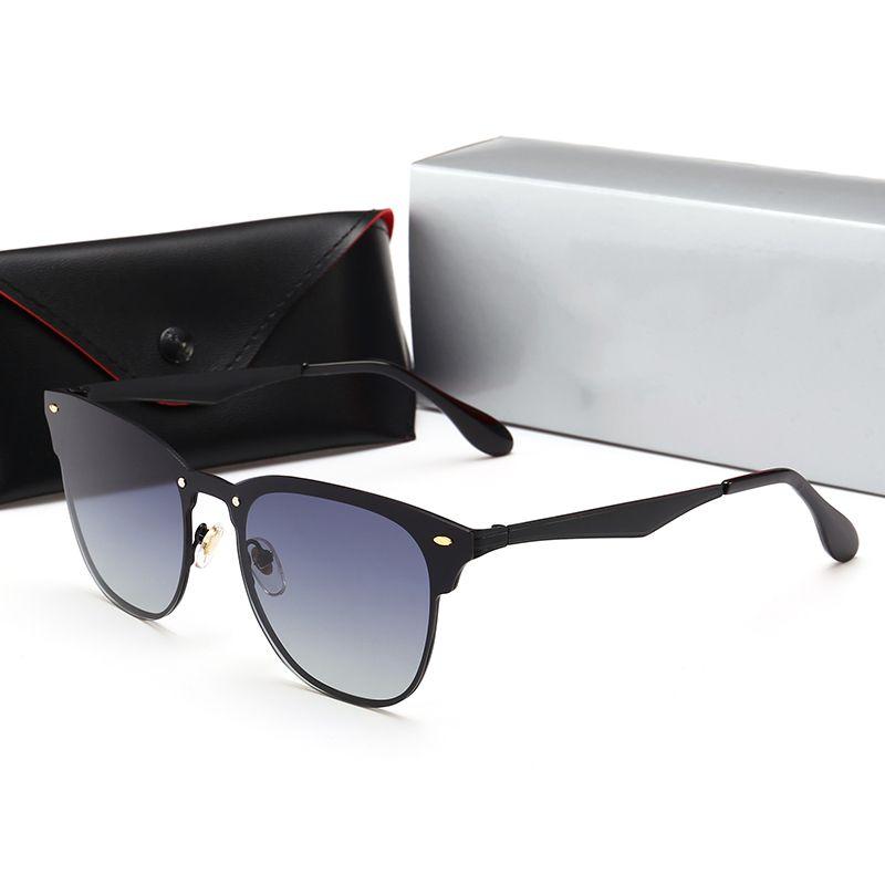 3699e515c3 55MM 3576 Polarized Lens Hot Sale Aviator Rays Sunglasses Vintage Pilot  Brand Sun Glasses Band UV400 Bans Men Women Ben Wayfarer With Case Best  Sunglasses ...