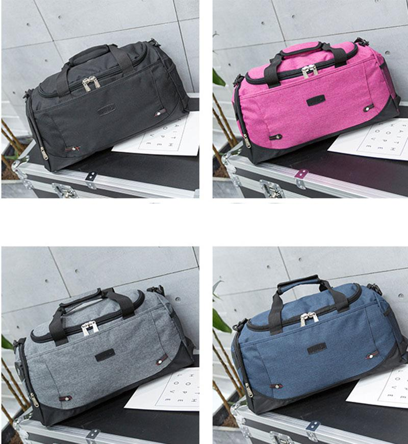 43ce27f2e5 2018 New Style Outdoor Duffel Travel Bags Luggage Large Capacity Men ...