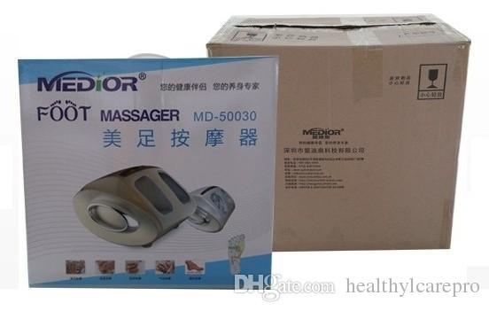 NUOVO dispositivo massaggio ai piedi Macchina Shiatsu Medialbranch Riscaldato Guasha Ieg Dolore muscolare professionale Piede pieno Strumento massaggiatore