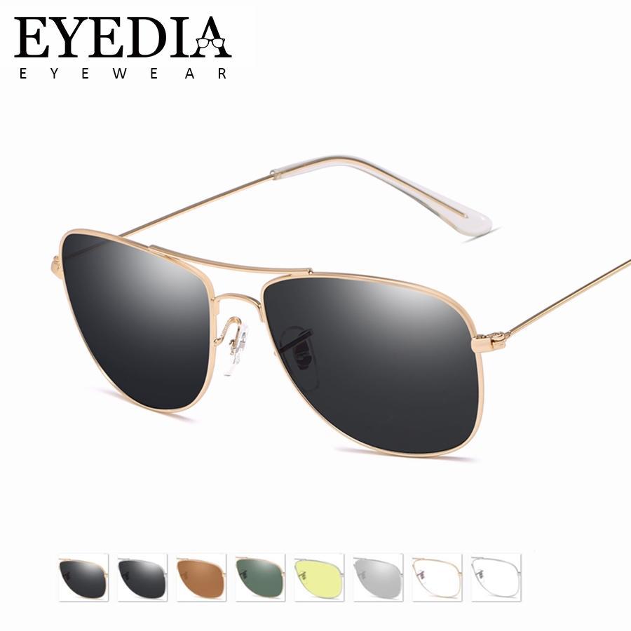 9027981e58 Compre Hombres Nueva Moda Vintage Aleación HD UV400 Gafas De Sol De Marca  Clásica Gafas De Sol Lentes De Recubrimiento Lentes De Conducción Para  Mujeres ...