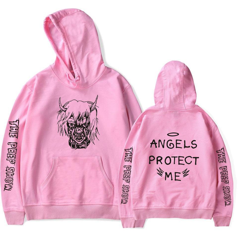 7775aeb79 2018 New Lil Peep Hoodies Men Hooded Sweatshirts Men Pink Spring Autumn Hip  Hop Harajuku Loose 4XL Hoodie Sweatshirt Streetwear Online with $47.2/Piece  on ...