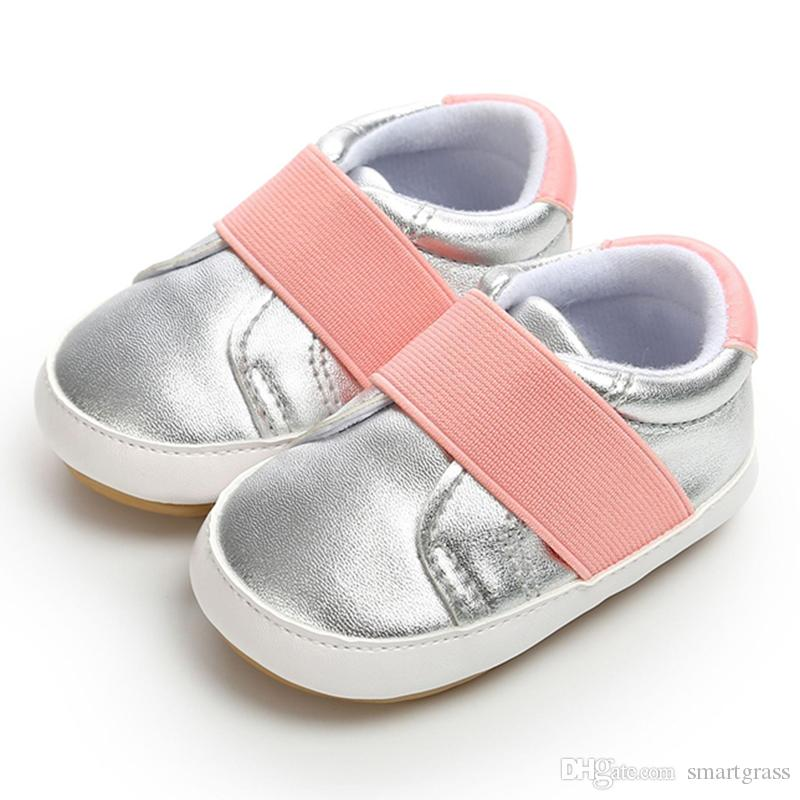 92ed8e84addf 2019 Fashion Baby Walking Shoes Newborn Baby Girl Boy Shoe Size 1 To 5 Soft  PU Leather Baby Shoes 18091002 From Smartgrass
