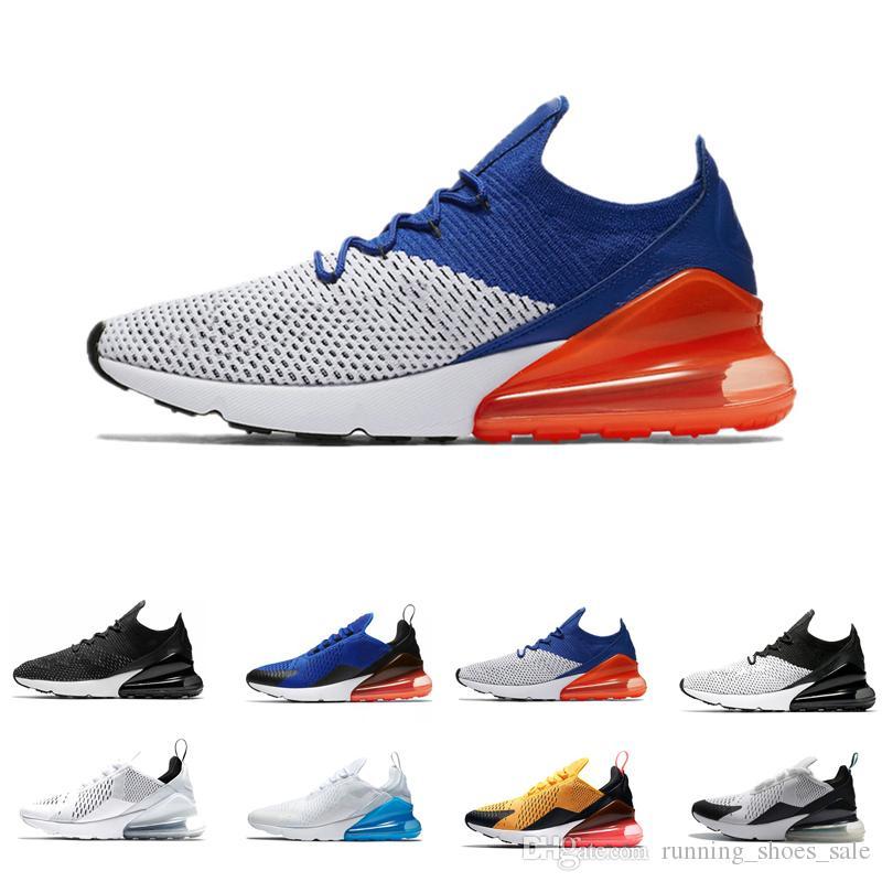 f6adbee668d New 270 Racer Blue Men Women Running Shoes Bruce Lee Core White ...