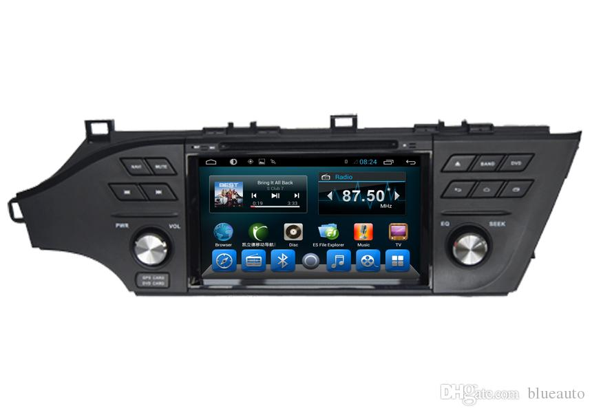 In-Dash Stereo For Toyota Avalon 2013 Car DVD Entertainment System With  Multimedia Double Din Touch Screen with AUX Bluetooth SWC 3G RDS