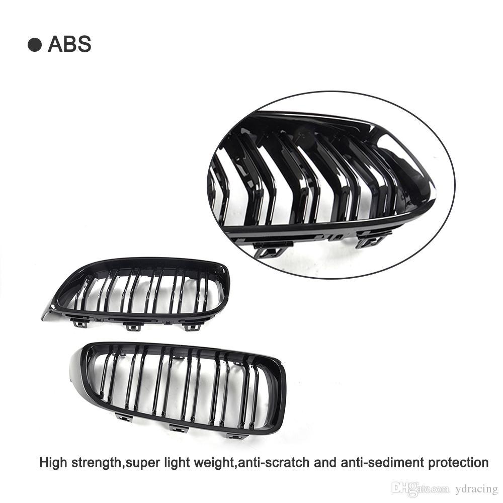 Car Styling ABS Mesh Brillant Auto Grille De Grill Avant Pour BMW F32 Grill F33 F36 F82 F80 M3 M4 Coupe Cabriolet 2013-2017