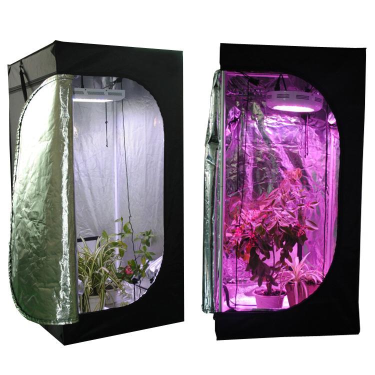 Tenda riflettente in mylar riflettente Camera verde con finestra di obeservation e vassoio piante da interno