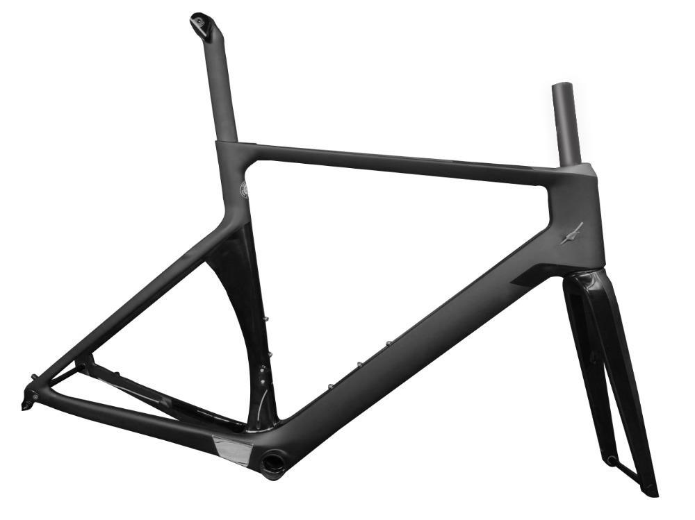 2018 Carbon Road Frame Disc Brake Aero Carbon Bicycle Bike Frame Xxs ...