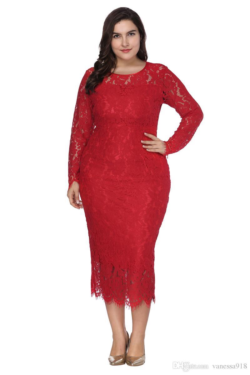 ac470637c99 Women Elegant Black Plus Size Lace Dress Summer Vestidos 6XL Long Large  Size Dress Sexy Evening Party Big Size Dresses Female SQ006 Dresses Women  Cocktail ...