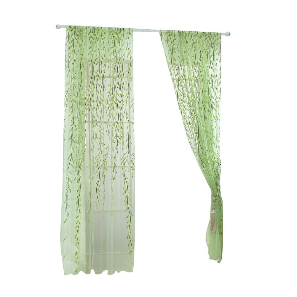 Online Cheap Transparent Tulle Window Screen Rod Pocket Voile ...