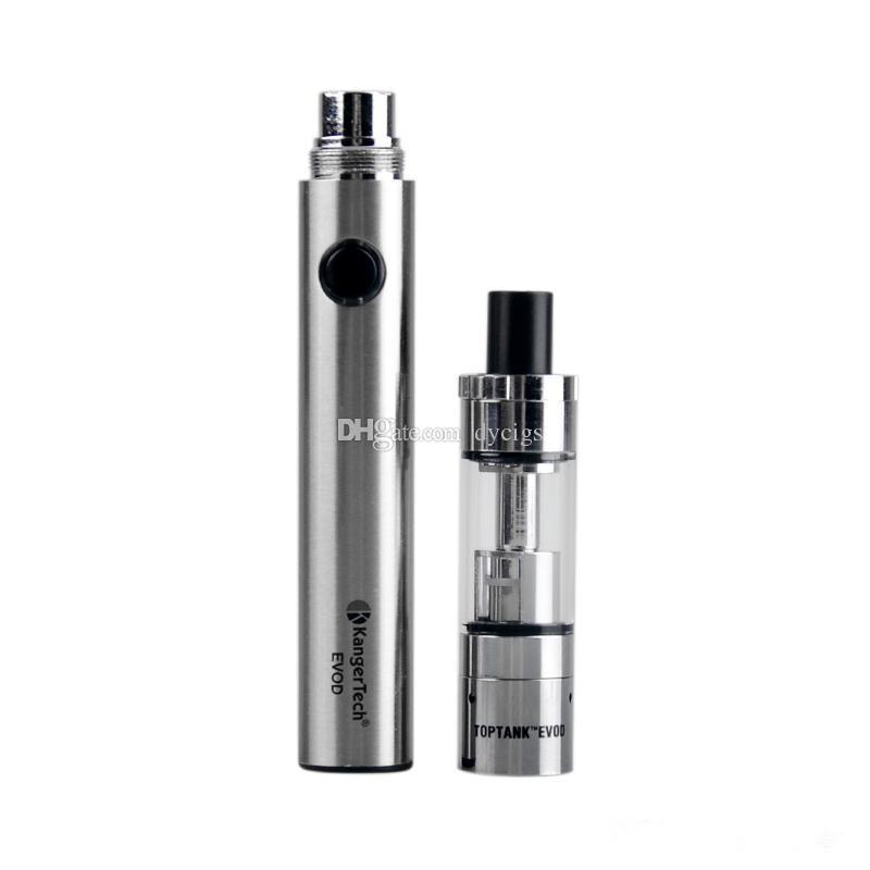 Kangertech Topevod Starter Kit with 1.7ml Kanger Top Evod Top filling Atomizer 650mah Evod Battery VOCC Coil subvod Vape pen