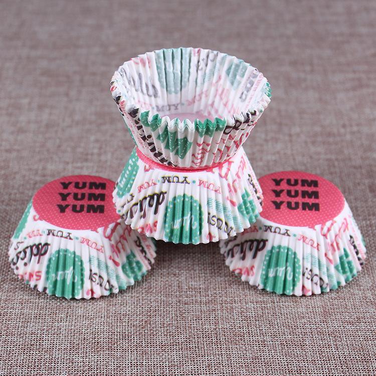 20000 pezzi che vendono muffin di carta involucri del bigné tazze di cottura casi muffin scatole torta torta che decora gli attrezzi strumenti della torta della cucina