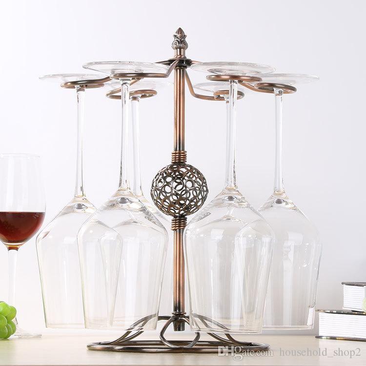 Подставка для бокалов для кухни Барная стойка для вина Подвеска для стакана Металлическая подставка для бокалов