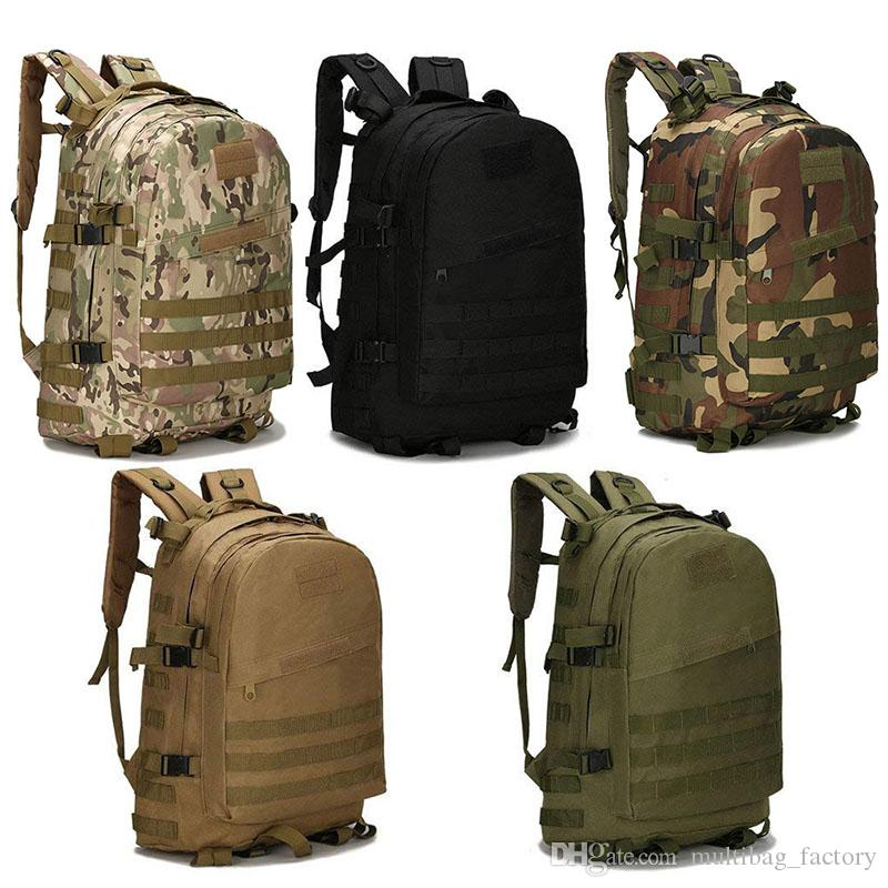 5e0fcd7d77b2 Military Tactical Backpacks Large Back Packs Assault Pack Bags Army MOLLE  Bug Out Rucksack Outdoor Hiking Camping Trekking Hunting Daypack