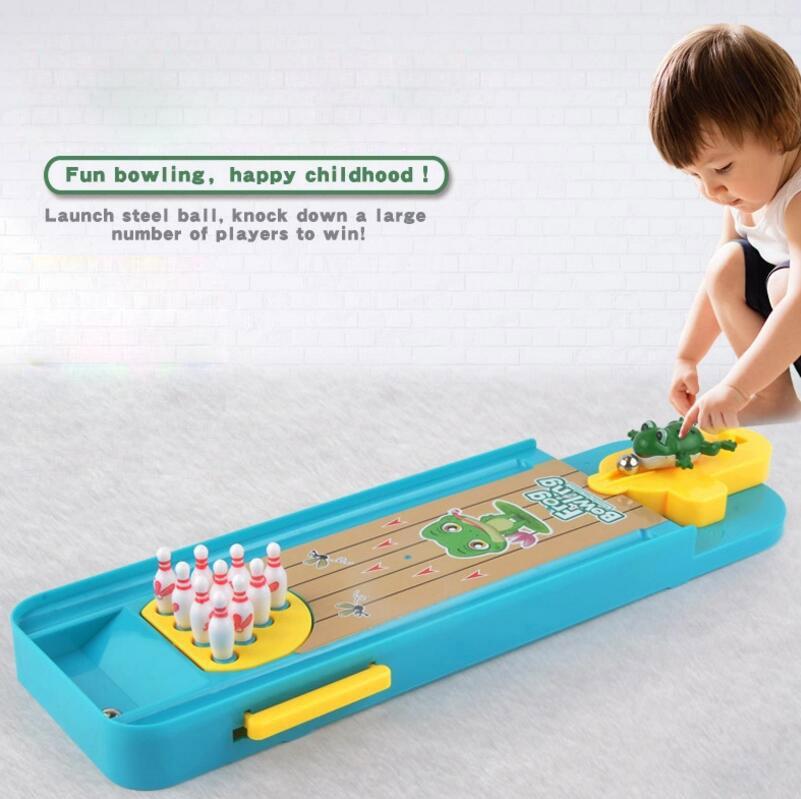 Acheter Bowling Jeu Grenouille Enfants Jouets Table De Mini LSUzMqVGjp