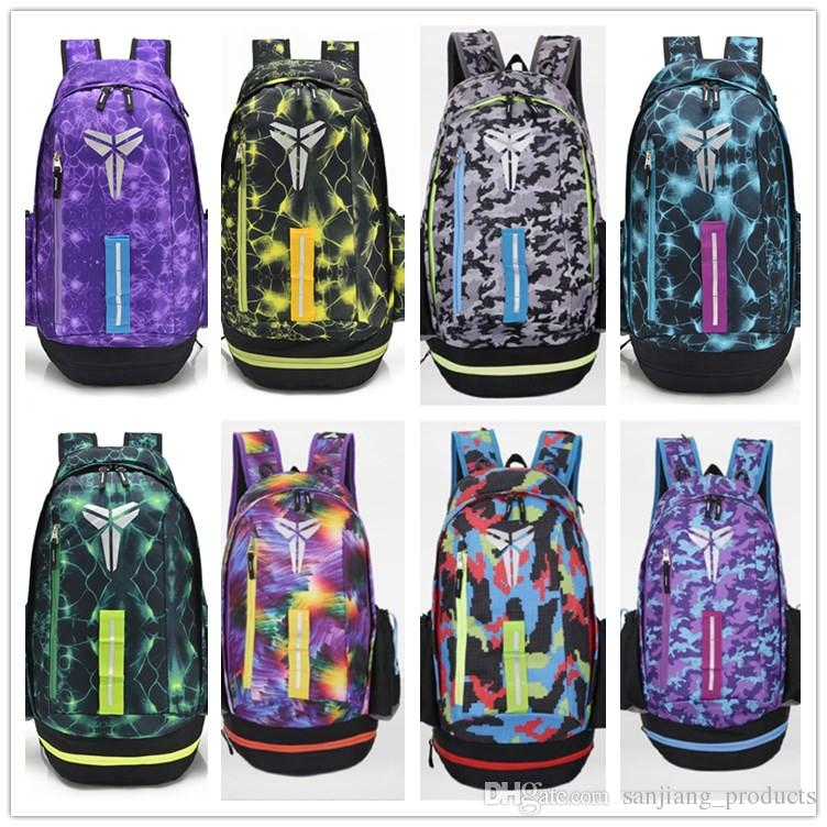 8a8aee2893 2019 KOBE Backpack Boy S Sports Travel Shoulders Bags School Book Bag  Teenager Girl S Children Outdoor Basketball Backpacks Marque Mochila From  ...